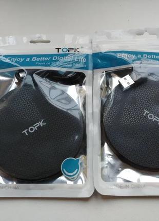 Беспроводное зарядное устройство зарядка TOPK QI Wireless Charger