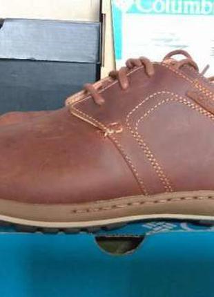 Кроссовки туфли мужские кожаные columbia davenport оригинал из...
