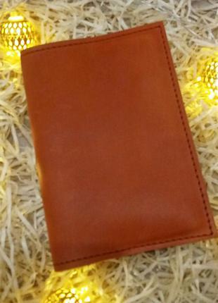 Обложка кожаная на паспорт. дропшиппинг