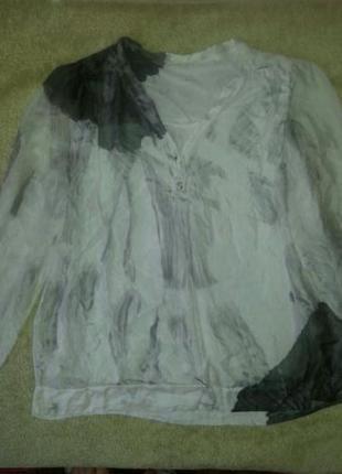 Шелковая блузка италия