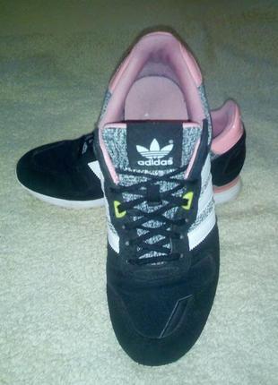 Замшевые кроссовки, сникерсы adidas zx 700 оригинал