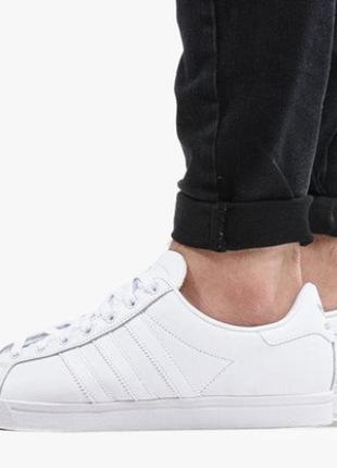 Кожаные фирменные кроссовки adidas coast star оригинал