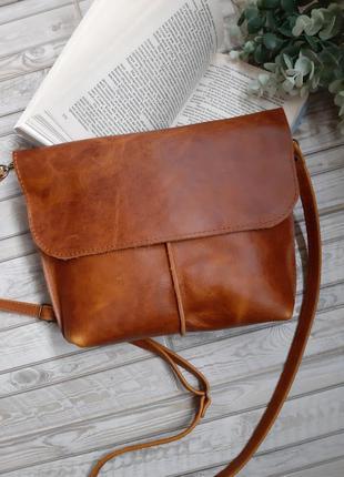 Новая кожаная сумочка женская сумка
