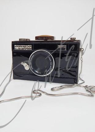 Сумка клатч фотоаппарат