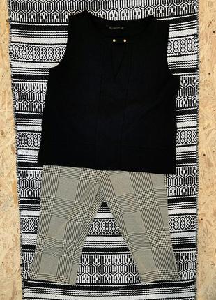 Комплект zara блузка и бриджи размер l