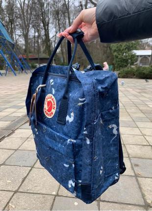 водонепрнокний рюкзак сумка fjallraven kanken портфель для школи