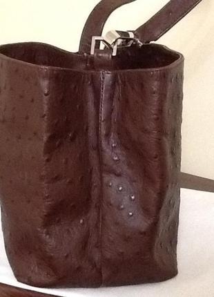 Итальянская сумка из натуральной кожи
