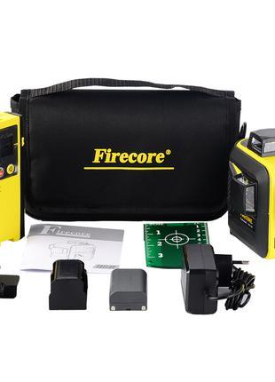 Лазерный уровень 3D с лазерным приёмником Firecore F93T-XG