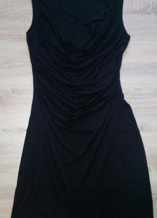 Черное платье миди bodyflirt