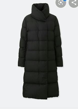 Пуховое пальто uniqlo m