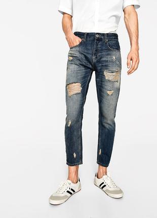 Распродажа!!! мужские джинсы zara, р.44 евро