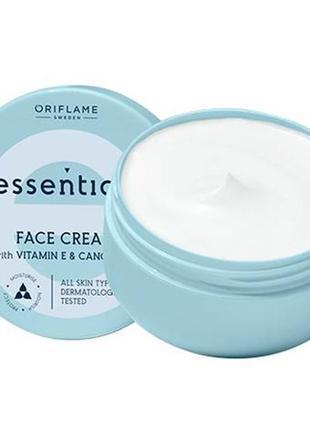 Увлажняющий крем для лица essentials орифлейм код 42027