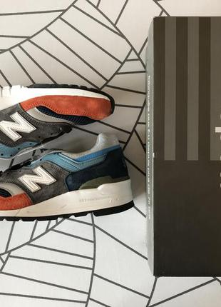 Кроссовки new balance 997 made in usa, 7us, 40eu