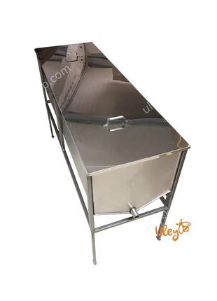 Стол - воскотопка, с крышкой - 1,5 метра, толщина 0,8 мм