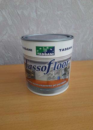 Эмаль на водной основе для полов Tassani