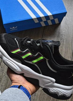 Adidas ozweego core black мужские кроссовки адидас озвего