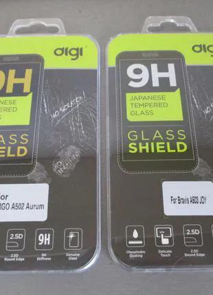 Защитное стекло digi для BRAVIS A503 JOY + Чехол