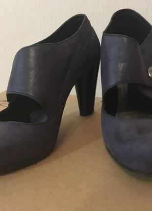 Туфли с широкой пряжкой