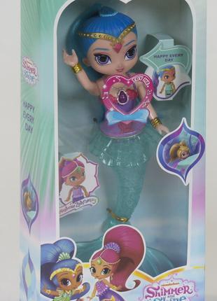 Кукла - русалочка из мф Шиммер и Шайн 29 см, есть звук и свет