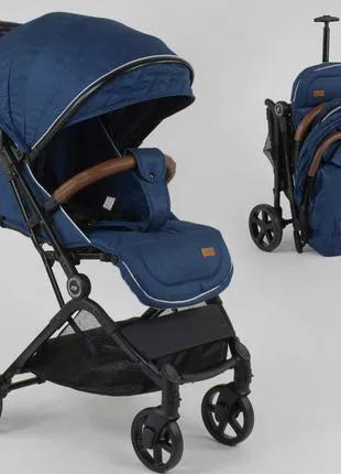 Детская прогулочная коляска Joy C 1001 съемный бампер, футкавер,
