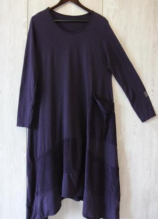 Платье в стиле бохо, италия, хлопок