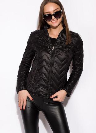Женская стеганная демисезонная куртка