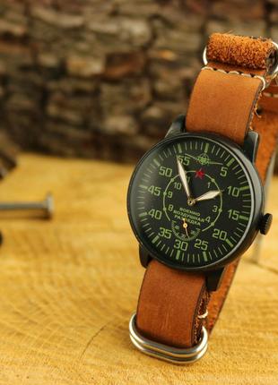 """Мужские наручные часы Победа """"Военно воздушная разведка""""."""