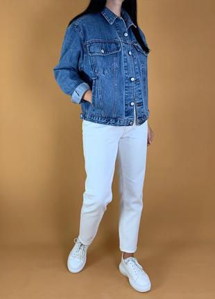 Джинсовая куртка джинсовка оверсайз винтаж levis!