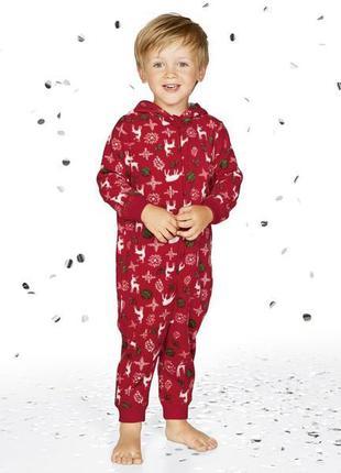 Мягусенький теплый человечек пижама кигуруми