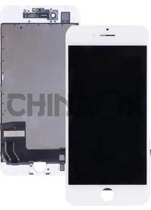 LCD дисплей (экран) для Apple iPhone 7 Plus белый/white TianMa