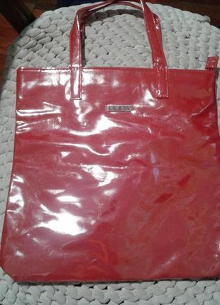Перламутровая  новая розовая сумка pupa