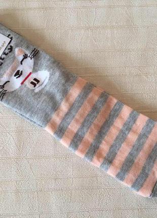 Женские носки серые с мышкой 36-39 размер