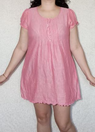 Распродажа!!! хлопковое платье туника
