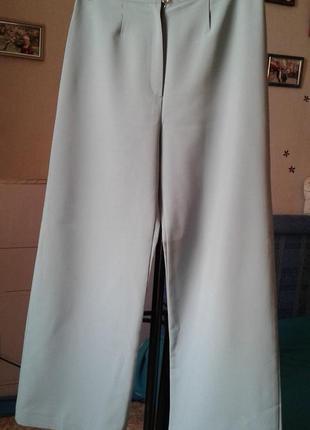 Широкие брюки лёгкие стильные  комфортные