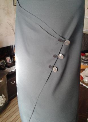Оригинальная юбка-стильно модно сексуально.р 56-60