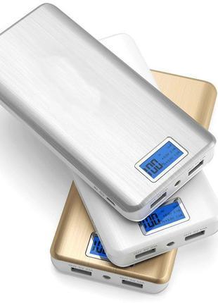 PowerBank Xlaomi Mi Powerbank 2 USB + Экран 28800mAh| ПоверБанк