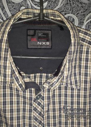 Рубашка голландского бренда одежды для представителей сильного...