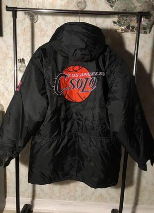Зимняя куртка баскетбольная los angels c solo