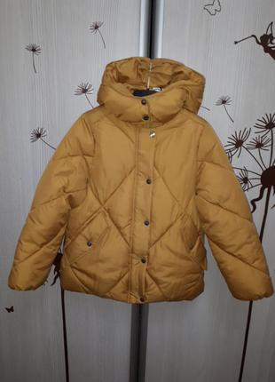 Куртка zara 140.152 модель оверсайз
