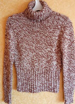 🧸мягкий свитер zara🎀крупная вязка/тотальные скидки🙀