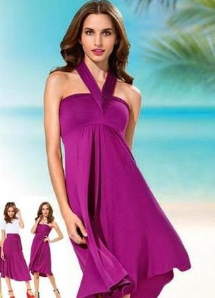 Платье трансформер сарафан юбка 7 в 1