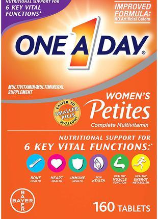 Комплекс витаминов и минералов One a Day Petite для женщин 160 шт