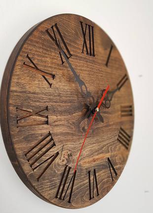 Настенные часы из натурального дерева. Ретро 2