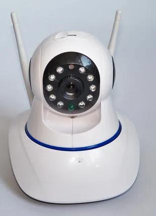 IP Камера видео-наблюдение, WI-FI камера, онлайн поворотная, ночн