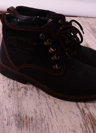 Мужские ботинки, нубук