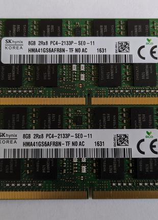 SK Hynix DDR4 8GB 2Rx8 PC4-2133P / HMA41GS6AFR8N-TF
