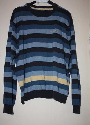 Модный мужской 100%котон свитер р-ххl в отличном состоянии