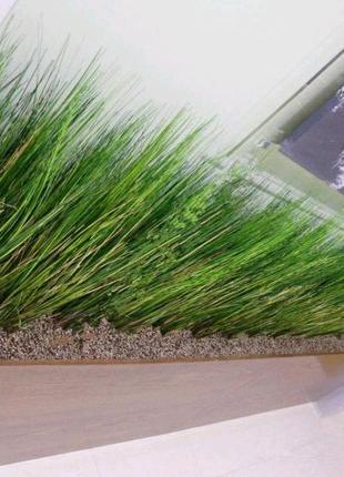 Трава искусственная (ветка) высокая 70см