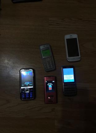 робочі телефони Nokia Samsung Donat Tv phone