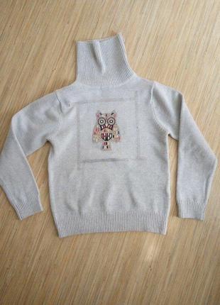 Гольф, свитер для девочки на 3 года, рост 92